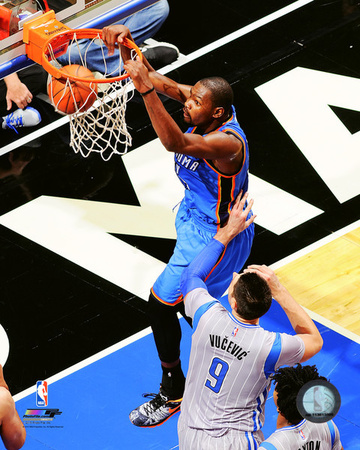 Kevin Durant 2015-16 Action Photo