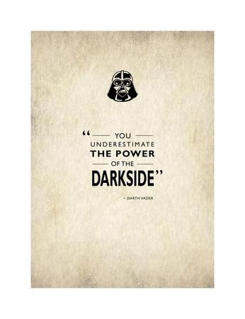 Darth Vader Giclee Print by Mark Rogan