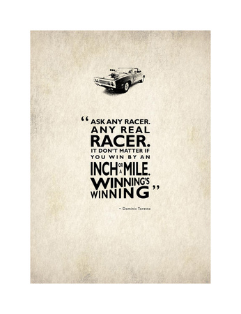 Ask Any Racer Giclee Print by Mark Rogan