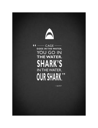 Jaws Giclee Print by Mark Rogan