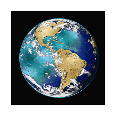 World Turning VI Giclee Print by Russell Brennan