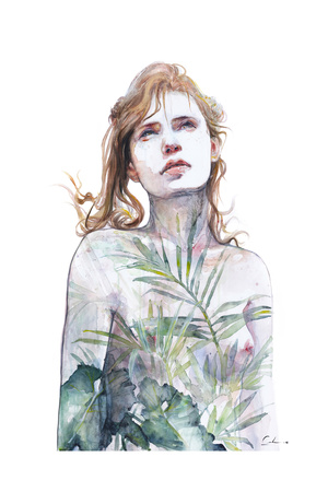 Breathe In Breathe Out Prints by Agnes Cecile