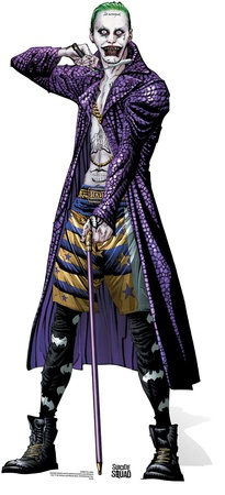 The Joker - Suicide Squad Comic Artwork Standup Figura de cartón