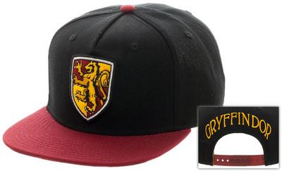 Harry Potter- Gryffindor Shield Logo Snapback Hat