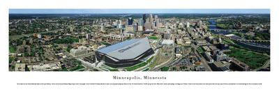 Minneapolis, MN 8 (US Bank Stadium) Prints by James Blakeway