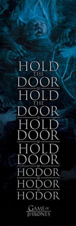 Game Of Thrones- Hodor Hold The Door Print