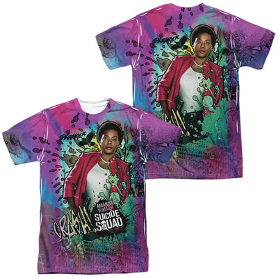 Suicide Squad- Amanda Waller (Front/Back) T-shirts