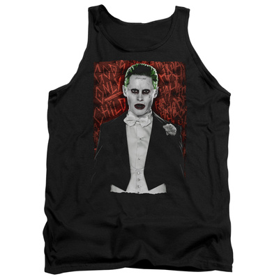 Tank Top: Suicide Squad- Joker Dressed To Kill Tank Top