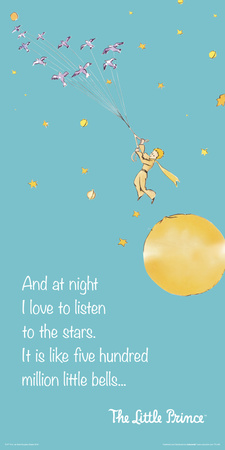 Little Prince- Listening To The Stars Prints