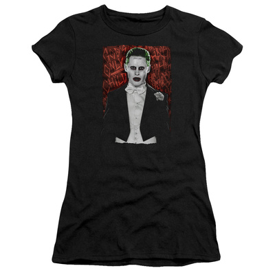 Juniors: Suicide Squad- Joker Dressed To Kill T-shirts