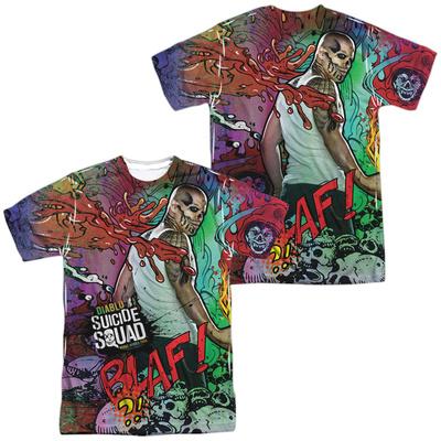 Suicide Squad- Diablo Psychedelic Graffiti (Front/Back) Shirt