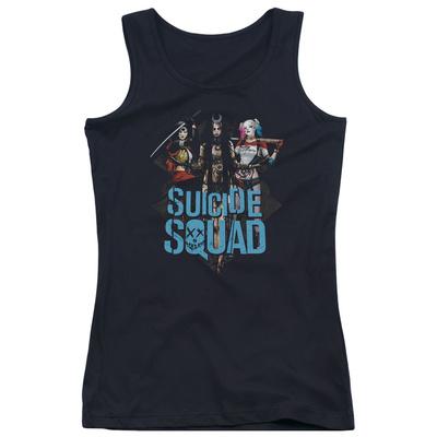 Juniors Tank Top: Suicide Squad- Femme Fatales T-shirts