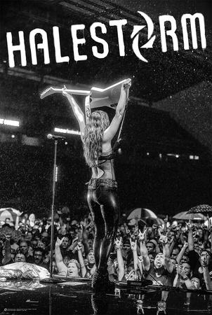 Lzzy Hale- Halestorm Posters