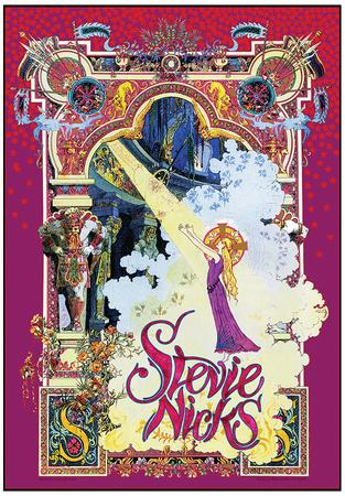 Stevie Nicks Spotlight Print by Bob Masse