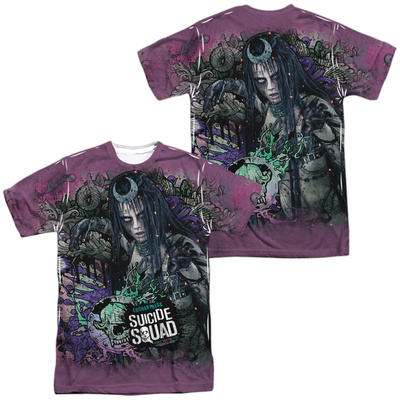 Suicide Squad- Enchantress Psychedelic Graffiti (Front/Back) T-shirts