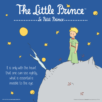 Little Prince- Only With The Heart Poster