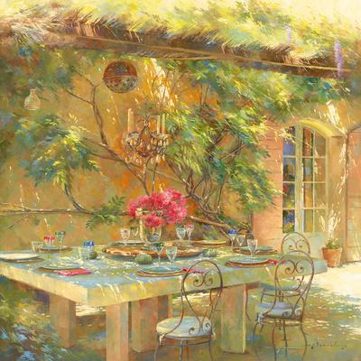 Le goût du Sud Giclee Print by Johan Messely