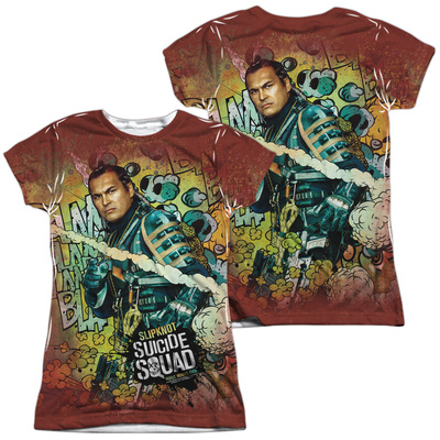 Juniors: Suicide Squad- Slipknot Psychedelic Graffiti (Front/Back) Shirts