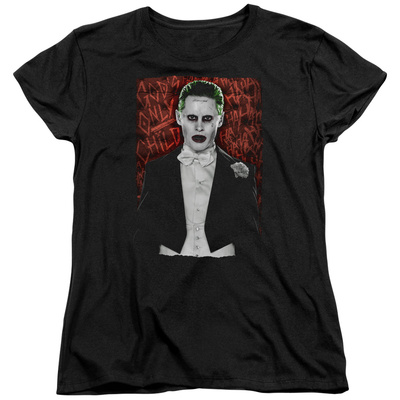 Womans: Suicide Squad- Joker Dressed To Kill T-shirts