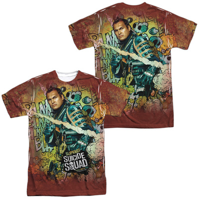 Suicide Squad- Slipknot Psychedelic Graffiti (Front/Back) T-shirts