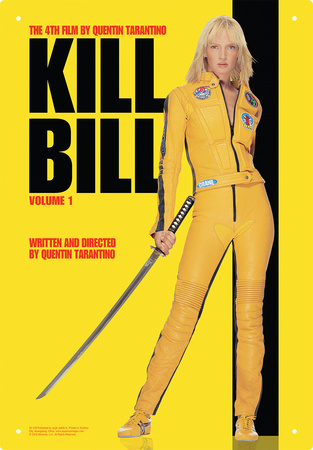 Kill Bill - One Sheet Tin Sign