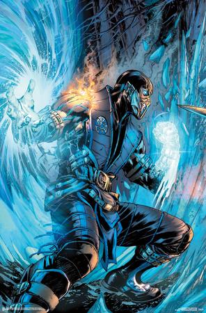 Mortal Kombat- Sub-Zero Comic Prints