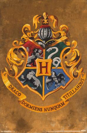Harry Potter- Hogwarts Crest Print