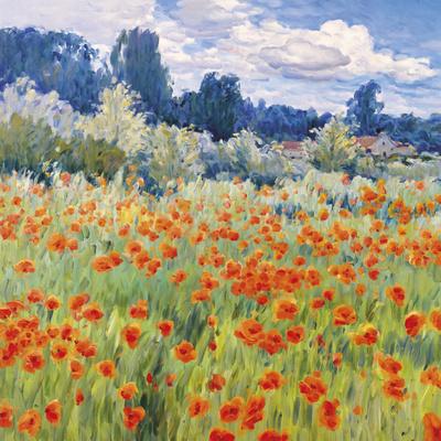 Meadow Farm Giclee Print by  Malva