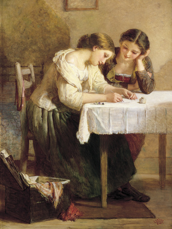 Love Letter Giclee Print by Henry Le Jeune