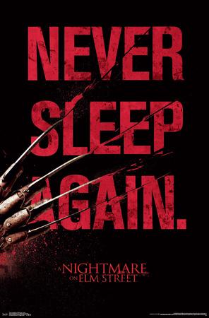 Nightmare On Elm Street- Never Sleep Again Prints