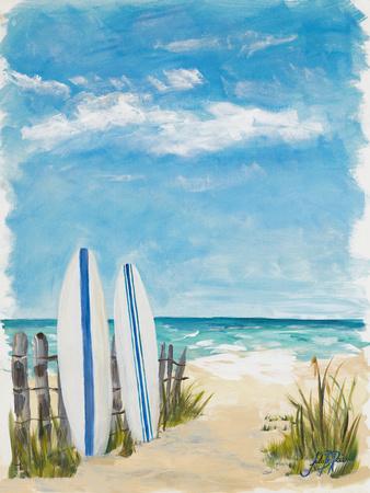 Tropical Surf II Prints by Julie DeRice