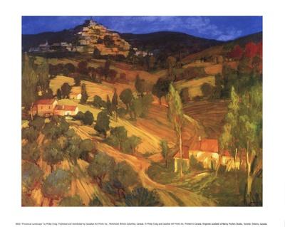 Provencal Landscape Prints by Philip Craig