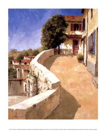 Provence Print by Gilles Archambault