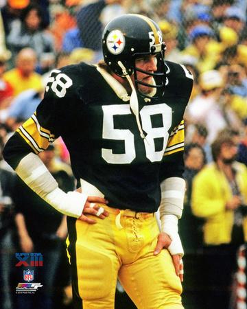 Jack Lambert Super Bowl XIII Action Photo