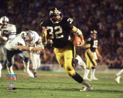 Franco Harris Super Bowl XIII Action Photo