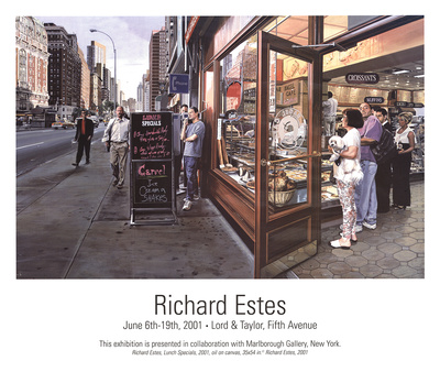 Lunch Specials Prints by Richard Estes
