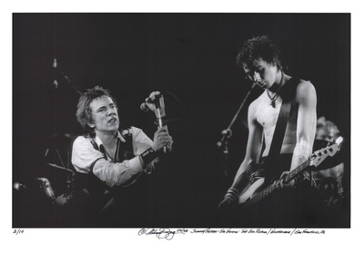 Johnny Rotten - Sid Vicious Limited Edition by Michael Zigaris