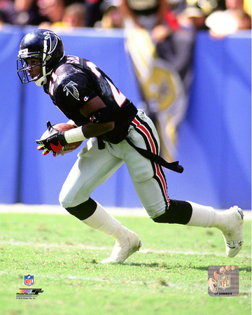 Deion Sanders 1991 Action Photo
