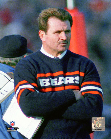Mike Ditka 1985 Action Photo