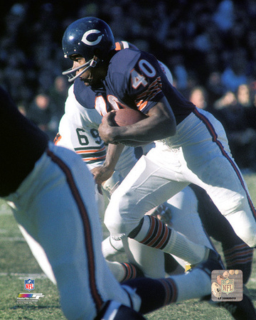 Gale Sayers 1969 Action Photo