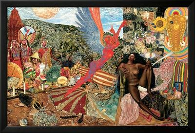 Annunciation- Santana Abraxas Cover Plakater