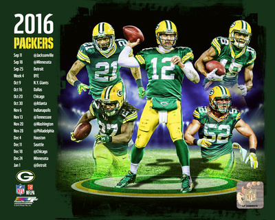 Green Bay Packers 2016 Team Composite Photo