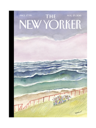 The New Yorker Cover - August 29, 2016 Giclee Print by Jean-Jacques Sempé