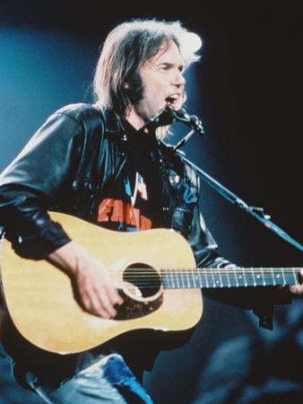 Neil Young Metalldrucke