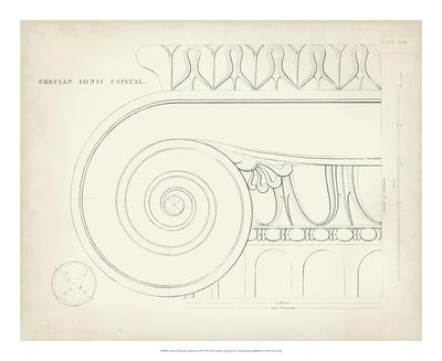 Greek & Roman Architecture IX Giclee Print by Thomas Kelly