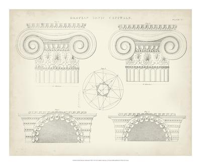 Greek & Roman Architecture VIII Giclee Print by Thomas Kelly