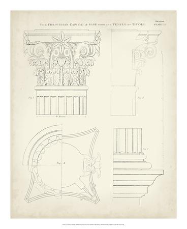 Greek & Roman Architecture I Giclee Print by Thomas Kelly