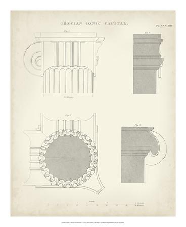 Greek & Roman Architecture VI Giclee Print by Thomas Kelly