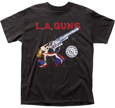 L.A. Guns- Cocked & Loaded T-shirts
