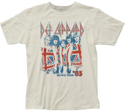 Def Leppard- World Tour '83 T-shirts